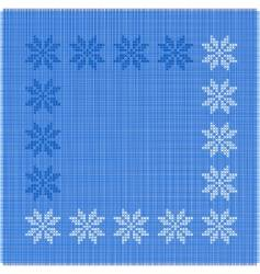Snow-flakes vector