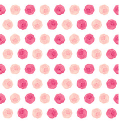 cute rose flower seamless pattern background vector image