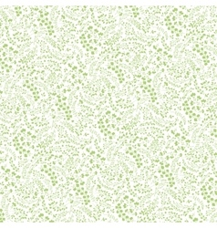 Doodles hand drawn branches background pattern vector