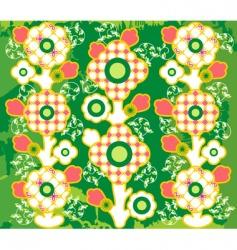 Floral background vector