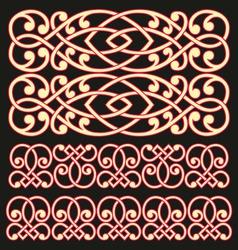 pattern lattice vector image vector image