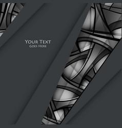 Techno background vector