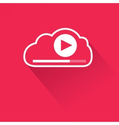 Video streaming from cloud vector image