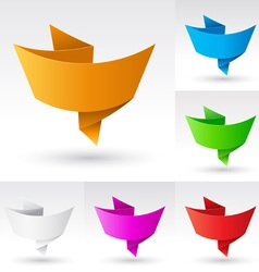 wave banners set vector image
