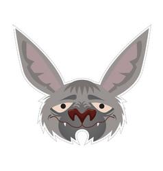 bat mask vector image
