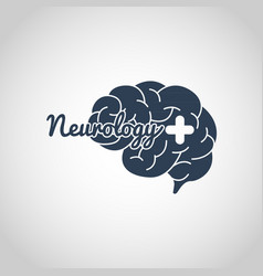 Neurology logo icon template vector