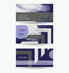 Leaflet publication template business brochure vector