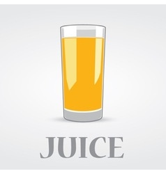 Orange juice logo design vector