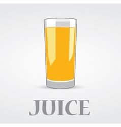 Orange Juice Logo Design vector image