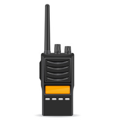 Walkie talkie 02 vector
