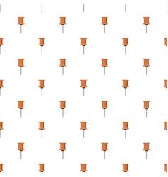 Push pin pattern vector