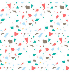 terrazzo flooring seamless pattern vector image vector image
