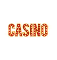 Lettes icon casino design graphic vector