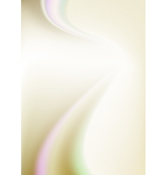 Abstract white gradient mesh background vector image vector image