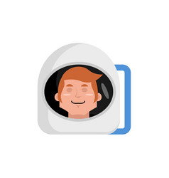 Astronaut sleeping emoji cosmonaut asleep emotion vector