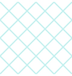 Mint white grid chess board diamond background vector