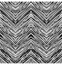seamless pattern with zigzag lines vector image