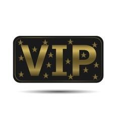 Vip icon vector