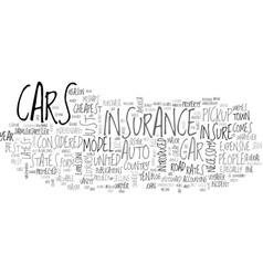 Auto insurance be it cheap or expensive text word vector