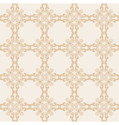 Creative design background in beige colors vector image vector image