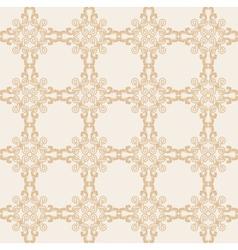 Creative design background in beige colors vector image vector image