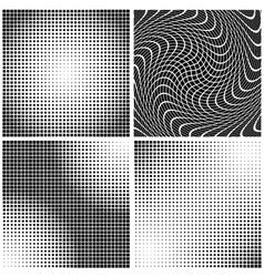 Dot gain textures vector