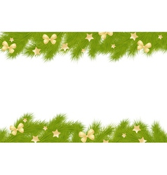 fir frame new vector image vector image