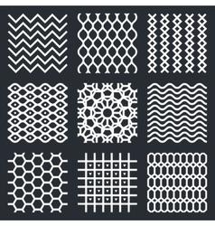 Geometric textures vector
