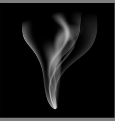 Realistic fire smoke flow vector