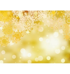 Golden christmas background eps 8 vector