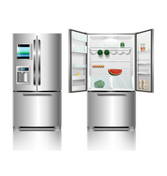 fridge vector image
