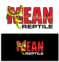 Mean reptiles vector