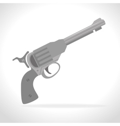 Guns and weapons vector