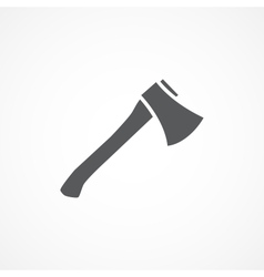 Axe icon vector