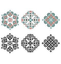Abstract decorative elements vector image