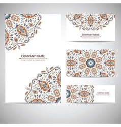 Businesscard template in vector