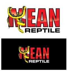 Mean reptiles vector