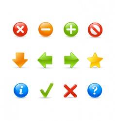 web navigation gel vector image