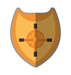 Handle safe box isolated icon vector