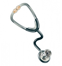 Doctors stethoscope vector