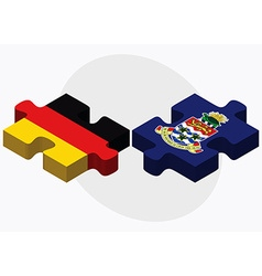 Germany and cayman islands vector