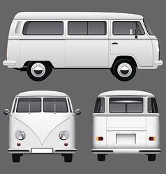 Vintage Van vector image
