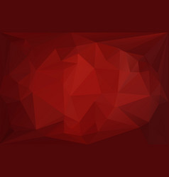 dark red diamond background vector image