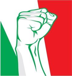 Italy fist vector