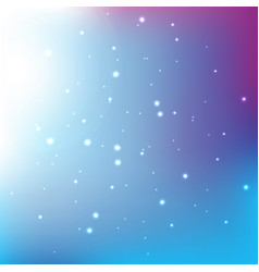 Abstract light bokeh blue gradian background vector