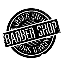 Barber shop stamp vector image vector image
