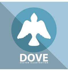 Dove icon design vector