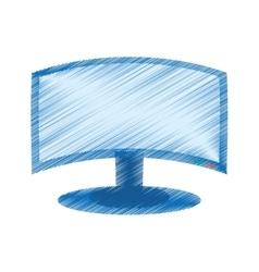 Drawing screen computer display equipment vector