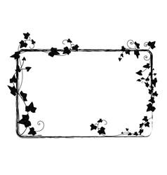 Ivy frame vector