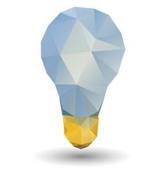 Triangle bulb vector image